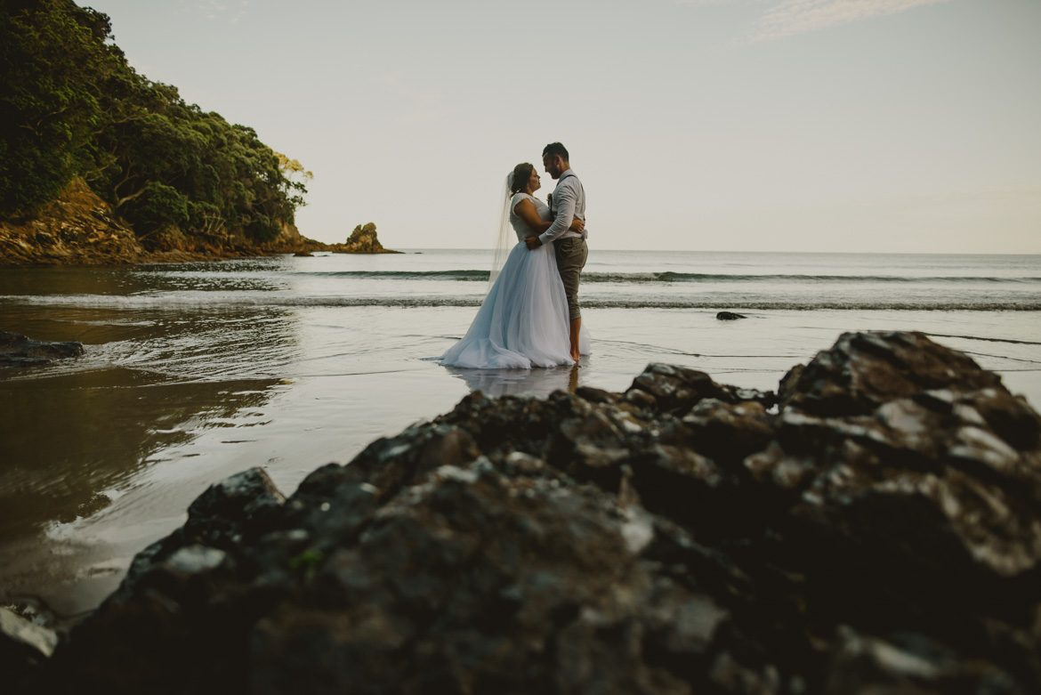Brittany & Elijah - Waihi Beach Wedding